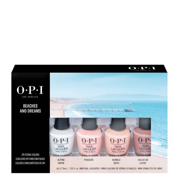 OPI Beach and Dreams Mini Nail Polish Gift Set 4 x 3.75ml