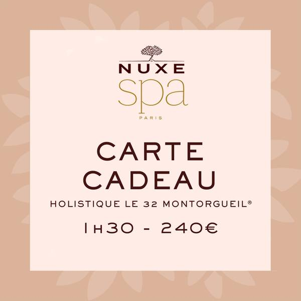 Carte Cadeau Holistique Le 32 Montorgueil<sup>®</sup> - 1h30
