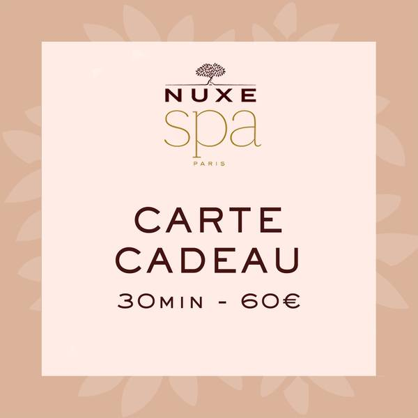 Carte Cadeau Spa - 30 min