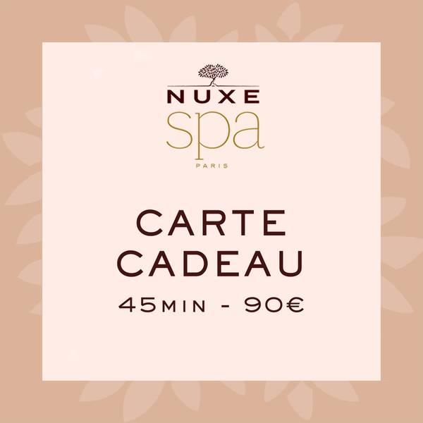Carte Cadeau Spa - 45 min