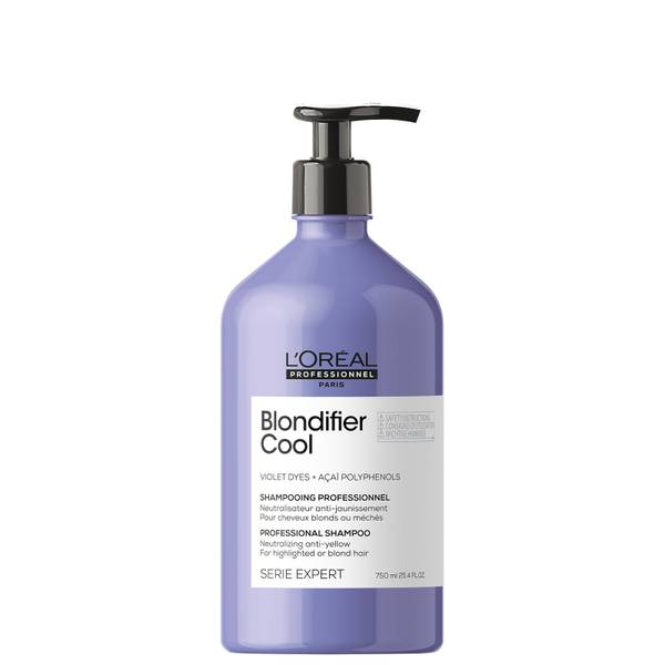 L'Oréal Professionnel Serie Expert Blondifier Cool Shampoo for Highlighted or Blonde Hair 750ml