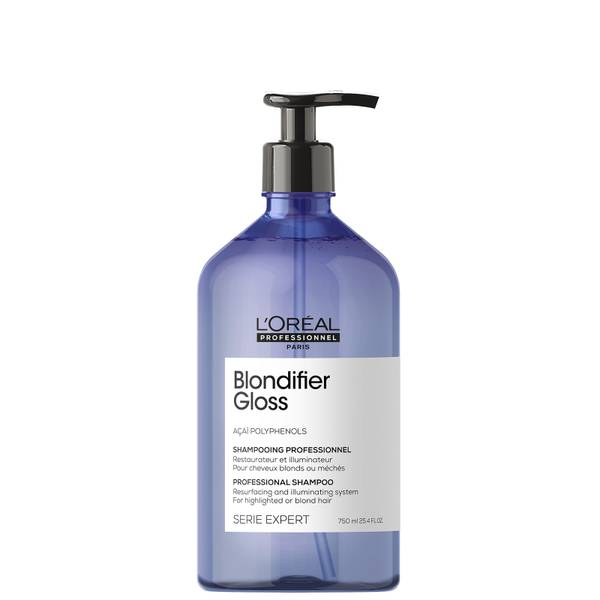L'Oréal Professionnel Serie Expert Blondifier Gloss Shampoo for Highlighted or Blonde Hair 750ml
