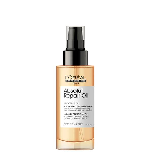 L'Oréal Professionnel Serie Expert Absolut Repair 10 in 1 Leave in Oil for Dry and Damaged Hair 90ml