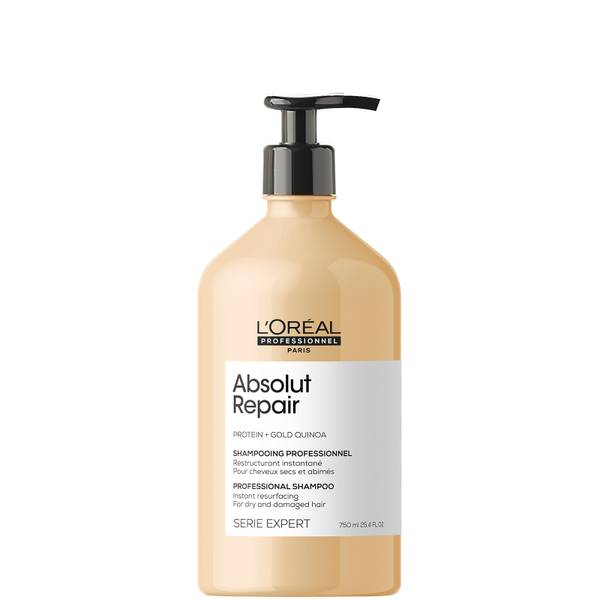 L'Oréal Professionnel Serie Expert Absolut Repair Shampoo for Dry and Damaged Hair 750ml