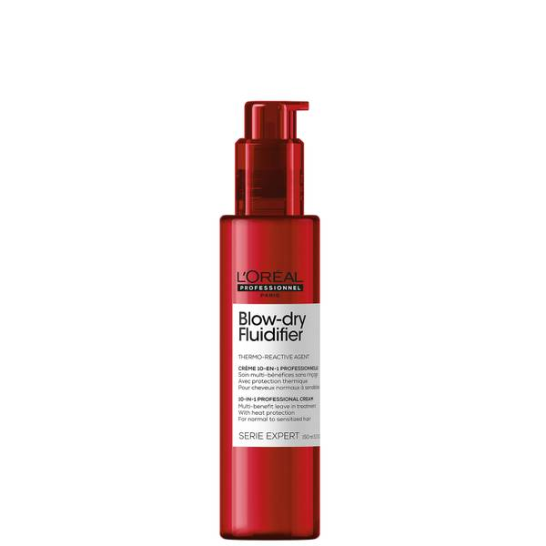 L'Oréal Professionnel Serie Expert Blow-Dry Fluidifier Multi-Benefit Blow Dry Cream with Heat Protection 150ml