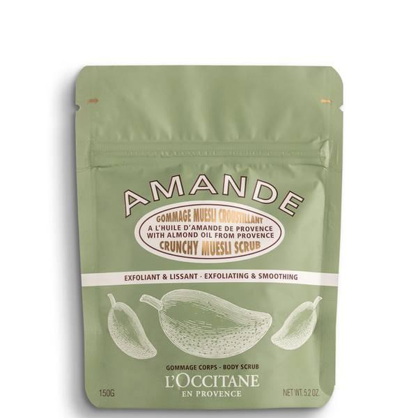L'Occitane Almond Crunchy Muesli Scrub 150g