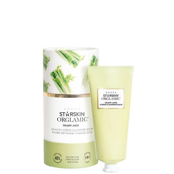 STARSKIN Orglamic Celery Juice Healthy Hybrid Cleansing Balm 15ml