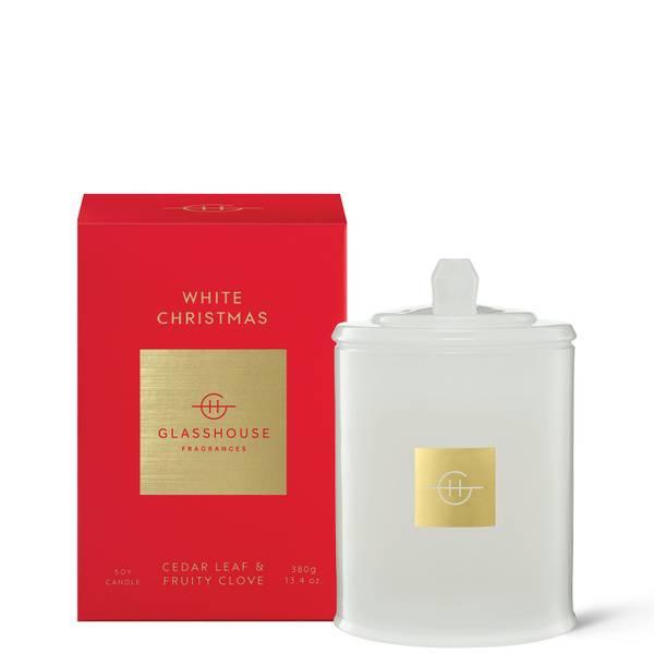 Glasshouse White Christmas Candle 380g