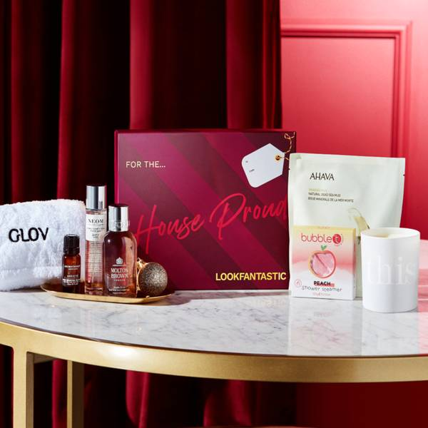 LOOKFANTASTIC Gift Guides 2021- The House Proud (Worth over £111)