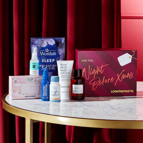 LOOKFANTASTIC Gift Guide - The Night Before Box 2021 Poland