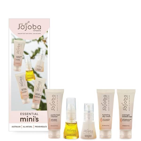 The Jojoba Company Essential Mini's Set (Worth $55.00)