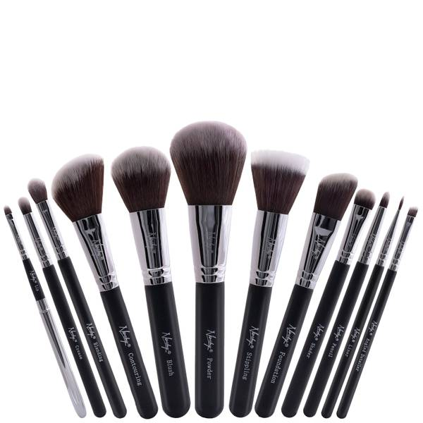 Nanshy Masterful Collection Brush Set - Onyx Black