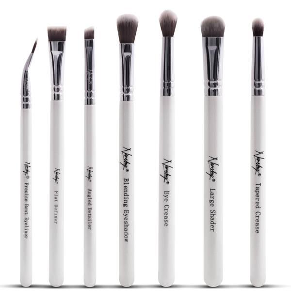 Nanshy The Eye Brush Set - Pearlescent White