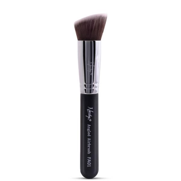 Кисть многофункциональная для коррекции тона Nanshy Angled AirBrush Brush Brush - Onyx Black
