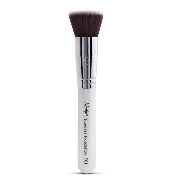 Nanshy Flawless Foundation Brush - Pearlescent White