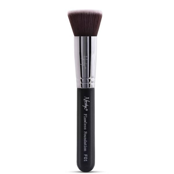 Nanshy Flawless Foundation Brush - Onyx Black