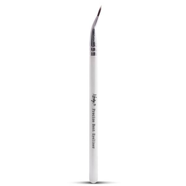 Nanshy Precise Bent Eyeliner Brush - Pearlescent White