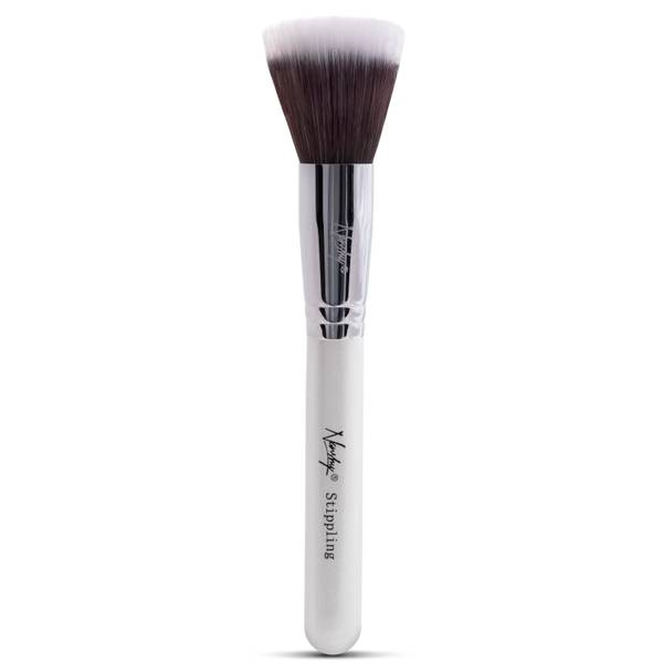 Nanshy Stippling Brush - Pearlescent White