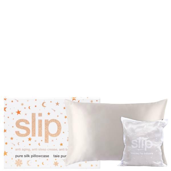 Slip Love Me I'm Delicate Gift Set - White