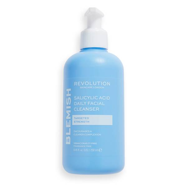 Revolution Skincare Blemish Targeting Salicylic Acid Facial Gel Cleanser