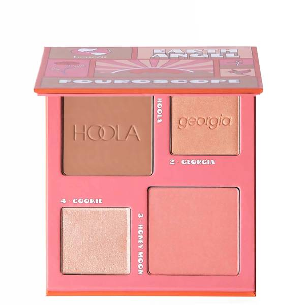 benefit Fouroscope Blusher, Bronzer and Highlighter Palette - Earth Angel
