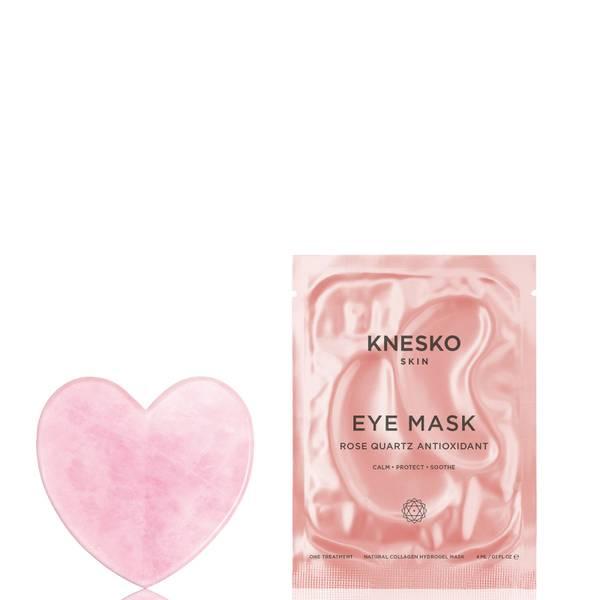 Knesko Skin Rose Quartz Heart Gua Sha (Worth £80.00)