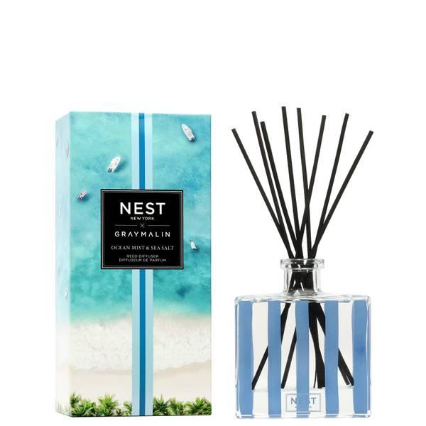 NEST Fragrances x Gray Malin Ocean Mist and Sea Salt Reed Diffuser 175ml