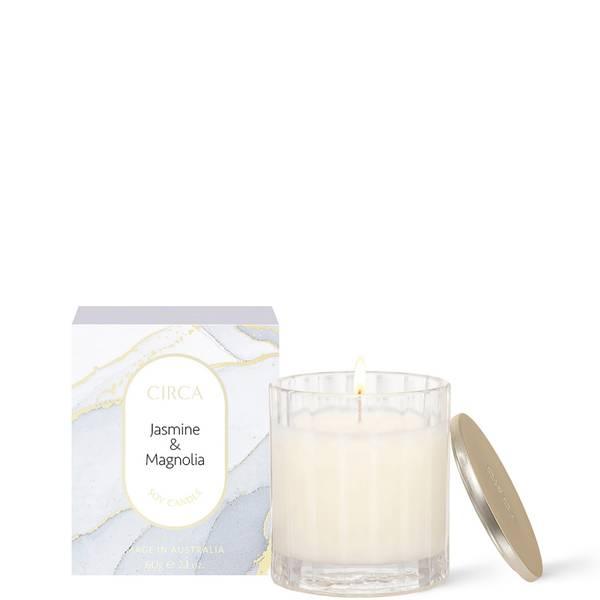 CIRCA Jasmine & Magnolia Scented Soy Candle 60g