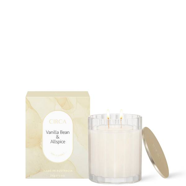 CIRCA Vanilla Bean & All Spice Scented Soy Candle 350g