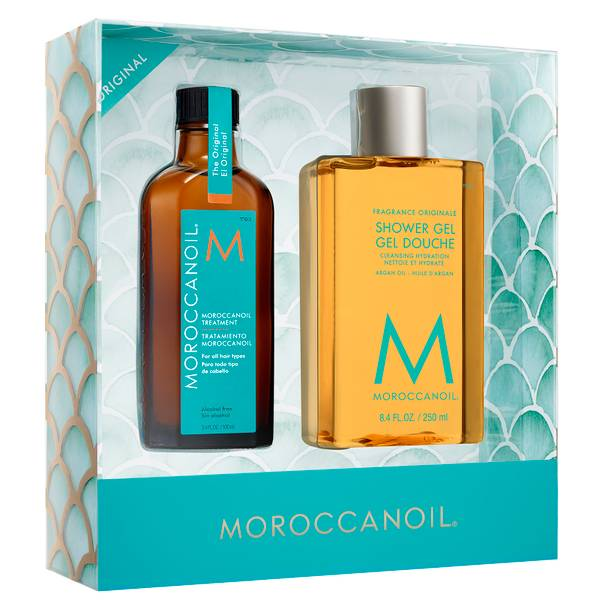Moroccanoil Treatment and Shower Gel Gift Set