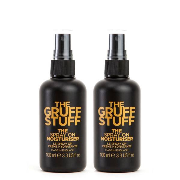 The Gruff Stuff The Spray On Moisturiser Duo