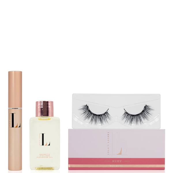 Lola's Lashes Ruby Magnetic Eyelash Kit - Black Eyeliner