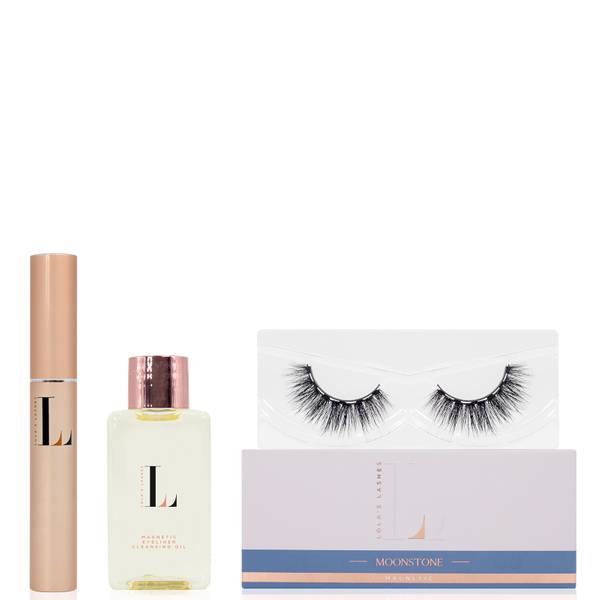 Lola's Lashes Moonstone Magnetic Eyelash Kit - Black Eyeliner