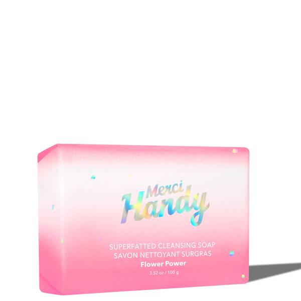 Merci Handy Superfatted Cleansing Soap - Flower Power