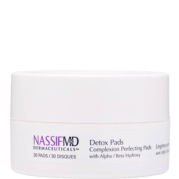 NassifMD Dermaceuticals Original Complexion Perfecting Exfoliating and Detoxification Treatment Pads 30ct