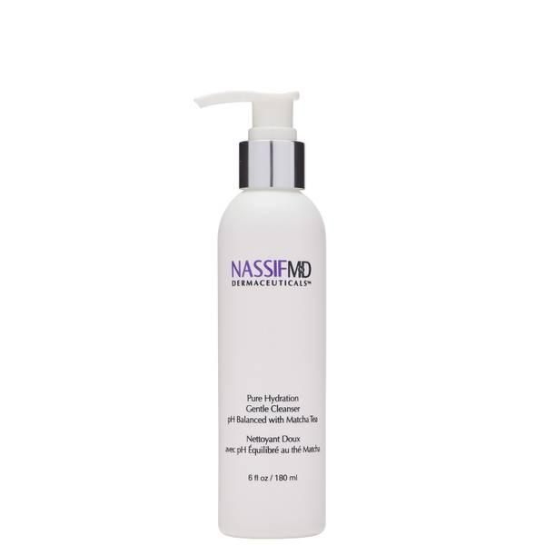 NassifMD Dermaceuticals Pure Hydration Facial Cleanser Antioxidant Rich Infused with Matcha Tea 180ml