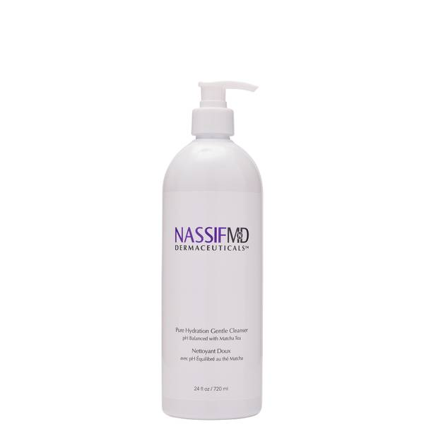 NassifMD Dermaceuticals Pure Hydration Facial Cleanser Antioxidant Rich Infused with Matcha Tea 720ml