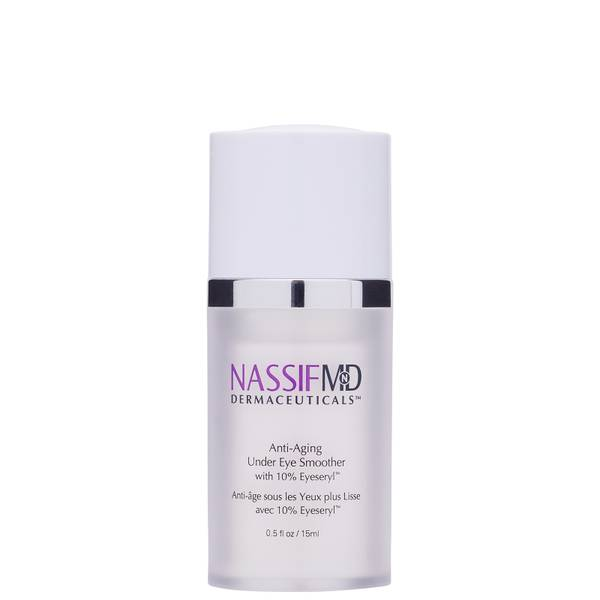 NassifMD Dermaceuticals Under Eye Smoother Eye Cream Infused with Eyeseryl and Peptides 15ml