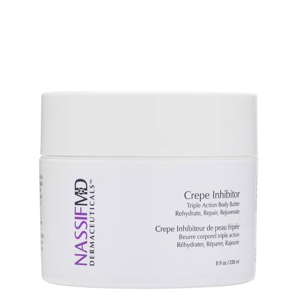 NassifMD Dermaceuticals Crepe Inhibitor Triple Action Body Butter 236ml