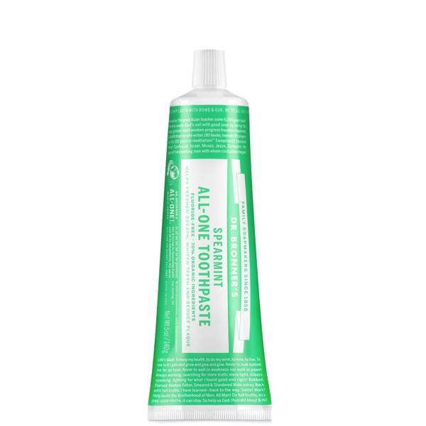 Dr Bronner's All-One Toothpaste Spearmint 140g