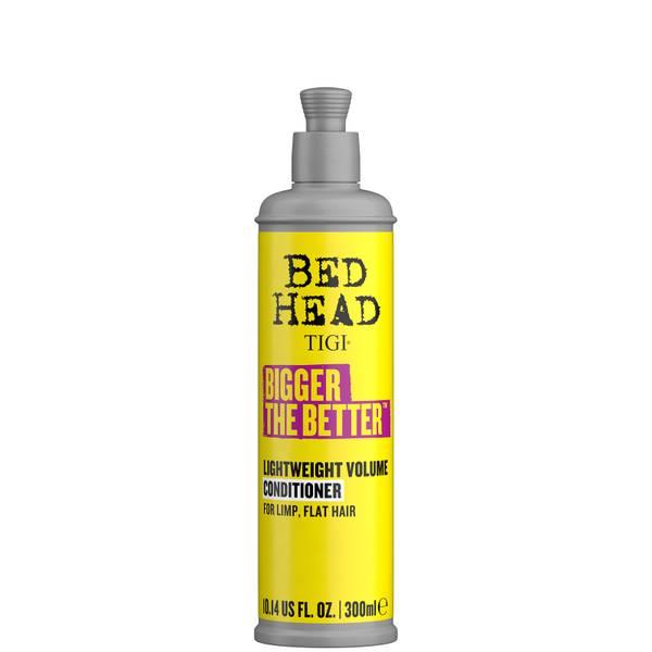 TIGI Bed Head Bigger The Better Lightweight Volume Conditioner for Fine Hair 300ml