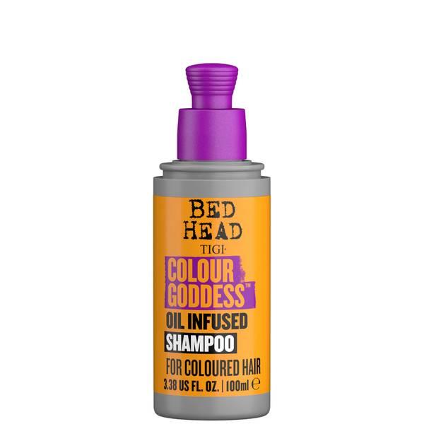 TIGI Bed Head Colour Goddess Travel Size Shampoo for Coloured Hair 100ml