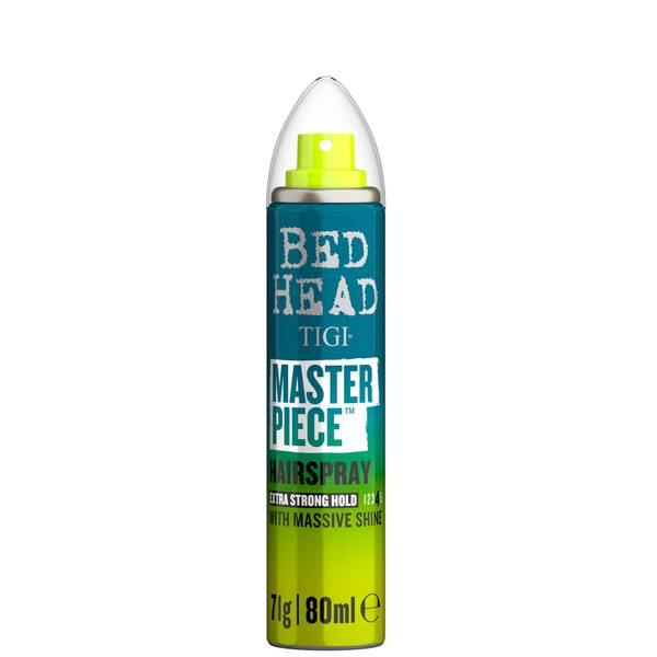 TIGI Bed Head Masterpiece Shiny Hairspray for Strong Hold Travel Size 80ml