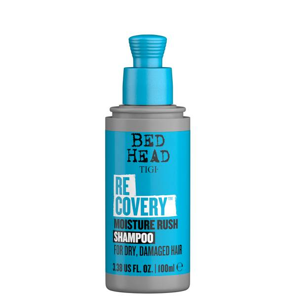 TIGI Bed Head Recovery Moisturising Shampoo for Dry Hair Travel Size 100ml