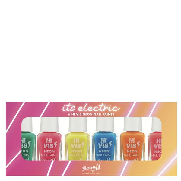 Barry M Cosmetics Nail Paint Gift Set - It's Electric