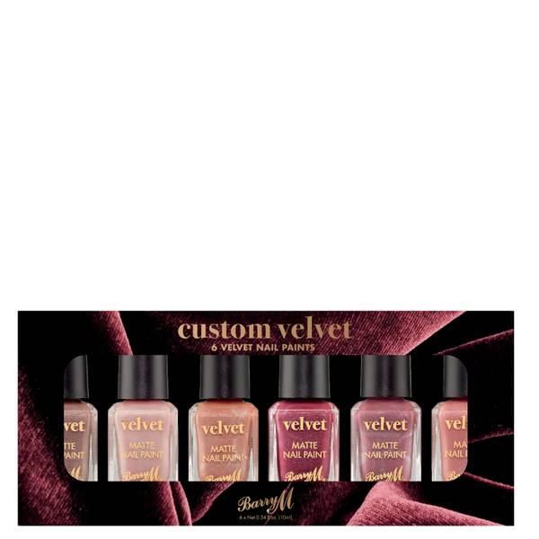 Barry M Cosmetics Nail Paint Gift Set - Custom Velvet
