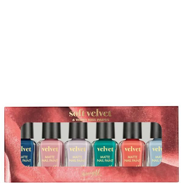 Barry M Cosmetics Nail Paint Gift Set - Soft Velvet