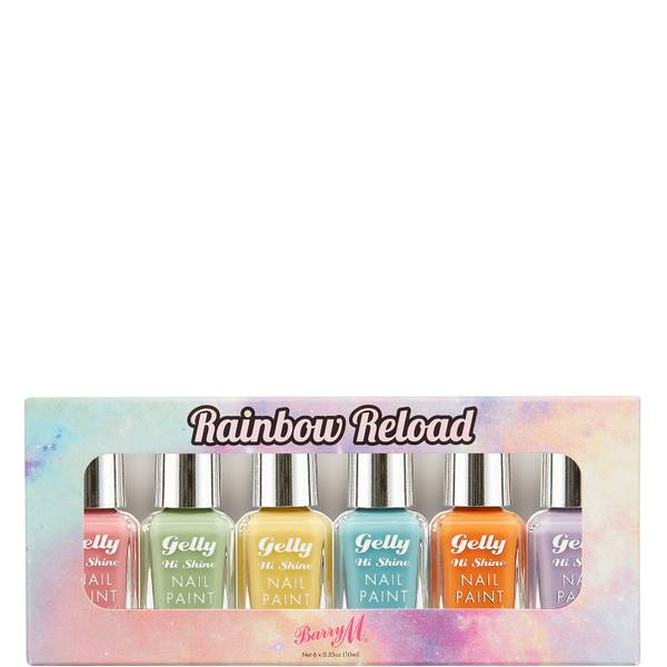Barry M Cosmetics Nail Paint Gift Set - Rainbow Reload