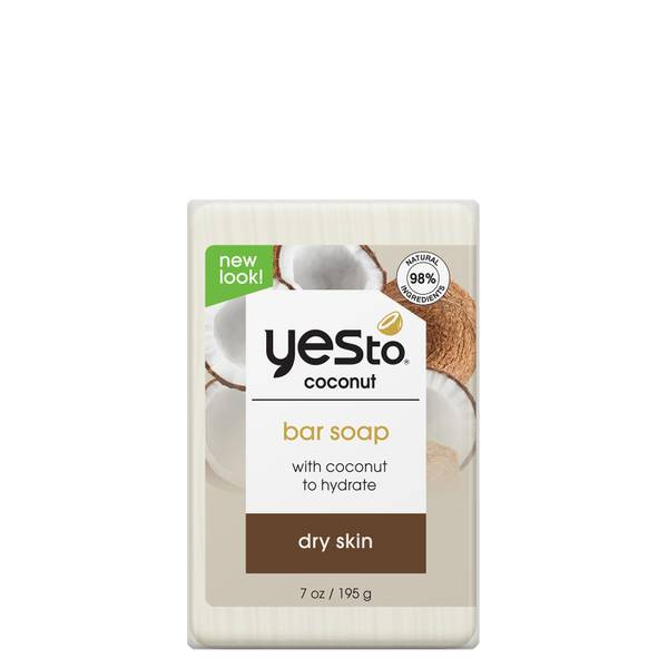 yes to Coconut Milk Bar Soap 195g