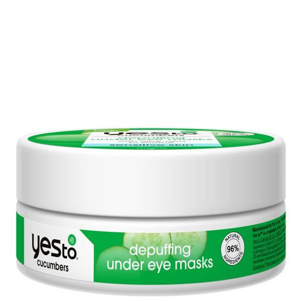 yes to Cucumbers Depuffing Under Eye Masks Jar (8 Pack)